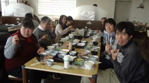 2014.2.19.お食事会舞洲スポーツセンター4 017